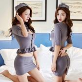 角色扮演內衣服性感緊身包臀短裙騷OL職業秘書裝女空姐制服激情套裝cr