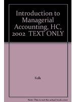 二手書博民逛書店 《Introduction to Managerial Accounting》 R2Y ISBN:0071123350│J.M.;Garrison