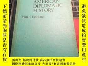 二手書博民逛書店Dictionary罕見of AMERICAN DIPLOMATIC HISTORY-美國外交史辭典【英文】Y