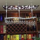 懸掛酒杯架創意紅酒杯架高腳杯架倒掛杯架吊...