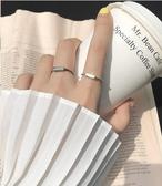 戒指 幾何潮人戒指女開口戒指女食指戒 莎拉嘿幼