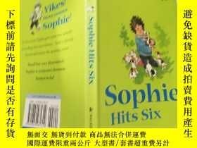 二手書博民逛書店SOPHIE罕見HITS SIX 索菲打了 6 分、Y200392