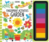 Fingerprint Activities:Garden 手指印玩樂遊戲書:花園篇