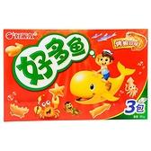 好麗友好多魚餅乾-烤蝦 90G【愛買】