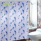 【YOLE悠樂居】PEVA浴室防水加厚浴...