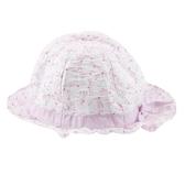 【愛的世界】蜻蜓荷葉遮陽帽/寶寶帽/兒童帽/圓帽/3~6歲-台灣製- ★用品推薦