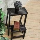 家用摺疊樓梯椅全實木梯子椅子多功能兩用步階梯凳梯子木凳子木梯 小山好物