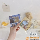 IG風透明卡包女式超薄小巧便攜卡套可愛韓版個性品牌【小桃子】