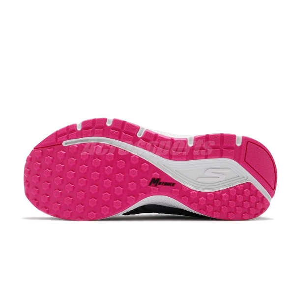 Skechers 慢跑鞋 Go Run Consistent 黑 粉紅 女鞋 輕量緩衝慢跑鞋 運動鞋 【ACS】 128075WBKPK