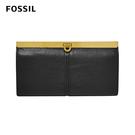FOSSIL KAYLA 馬蹄型扣式手拿包-黑色 SL7825001