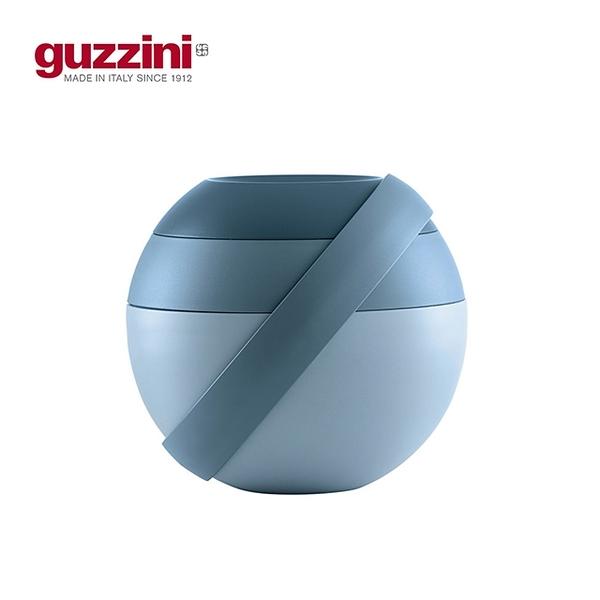 【義大利Guzzini】On the Go系列圓筒多層附餐具造型便當盒(環保實用餐具)
