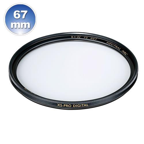 B+W XS-Pro 007 67mm Clear MRC nano 純淨濾鏡超薄高硬度奈米鍍膜