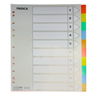 【HFPWP】IX902 10段塑膠五色分段紙