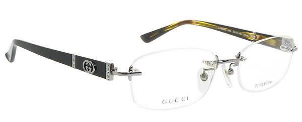 【台南 時代眼鏡 GUCCI】光學眼鏡鏡框 GG8554j VW6 引領時尚潮流 展現氣質無邊框 公司貨開發票