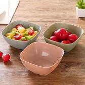 方形水果盤客廳塑料水果盆家用廚房洗菜盆茶几糖果盤沙拉碗【新店開張85折促銷】