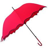 自動傘大紅色直桿新娘結婚傘婚慶晴雨傘