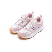 FILA MORGAN 女款少女粉色運動慢跑鞋-NO.5J314U551