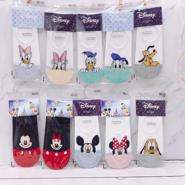 韓國襪子 迪士尼 矽膠防滑隱形襪 短襪 船型襪 米奇 米妮 唐老鴨 布魯托