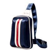 男士多功能胸包男包單肩包運動小包背包潮休閒帆布男士腰包斜背包