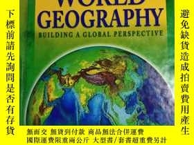 二手書博民逛書店World罕見Geography: Building a Global Perspective 世界地理:構建全球
