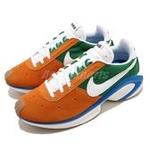 Nike 休閒鞋 D/MS/X Waffle 白 橘 綠 男鞋 麂皮設計 復古 運動鞋 【ACS】 CQ0205-800