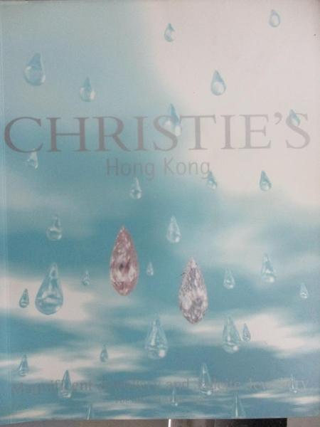 【書寶二手書T1/收藏_ZHU】Christie s_Magnificent Jewellery and…2003/4/29
