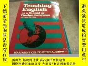 二手書博民逛書店Teaching罕見English As A Second Or Foreign LanguageY25556