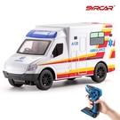 救援燈光音效男孩玩具兒童禮物 益智玩具兒童電動遙控玩具車 電動無線遙控車仿真醫生救護車