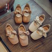 公主鞋 韓版百搭方頭女童豆豆鞋 GB1128『優童屋』