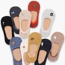 男女士純色棉襪子韓版卡通短筒襪低筒硅膠防滑船襪隱形