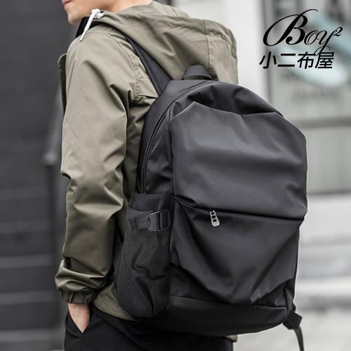 後背包 酷黑防水大容量輕盈休閒背包【NQA5174】