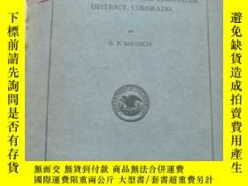 二手書博民逛書店GUIDES罕見TO ORE IN THE LEADVILLE