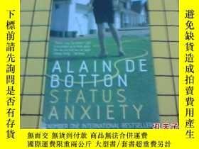 二手書博民逛書店STATUS罕見ANXIETY(英文原版)Y209851 Ala