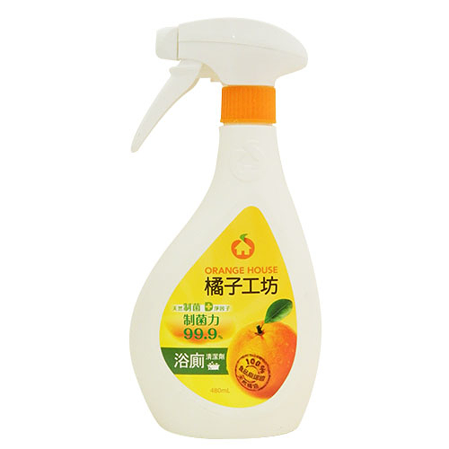橘子工坊浴廁清潔劑 480ml【合康連鎖藥局】