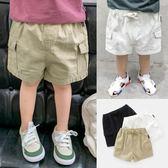男童嬰兒休閑短褲夏裝童裝男童中褲【奇趣小屋】