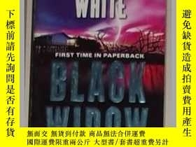 二手書博民逛書店英文原版罕見Black Widow by Randy Wayne