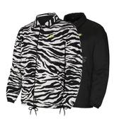 Nike 外套 NSW CE Jacket Coaches Winter 黑 白 男款 雙面 羔羊外套 絨毛 【ACS】 CV7121-010