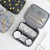 收納包 韓版手提便攜化妝包手拿收納袋韓國簡約小號防水旅行隨身洗漱品包 夢藝家