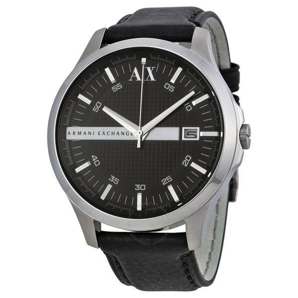 ARMANI AX亞曼尼 皮革男錶 AX2101經典款式 男錶女錶對錶情侶錶 送禮