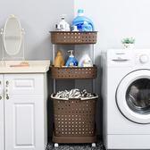 髒衣籃放髒衣服的籃子玩具衣物收納筐塑料洗衣籃髒衣簍桶家用宜家  igo 遇見生活