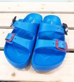 【震撼精品百貨】Micky Mouse_米奇/米妮 ~台灣製正版兒童米奇A線拖鞋-藍色(15~22號)#17072