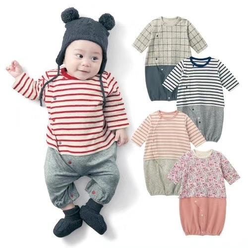 日本春秋緹花寶寶連身衣 兔裝 包屁衣 新生兒服 兔裝 造型服 媽媽寶寶童裝 (50-60)【GD0153】