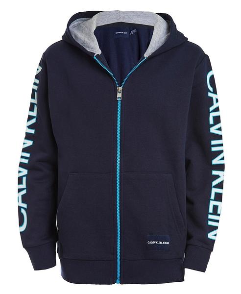 美國代購 Calvin Klein 青年款 棉質連帽外套 (S~XL) 1357