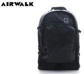 【橘子包包館】AIRWALK 紐約客仿皮輕量感極機密後背包 A615320820 黑色