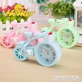 幼兒園中小學生鬧鐘定制logo創意自行車造型送學生小禮物商務禮品 時尚芭莎