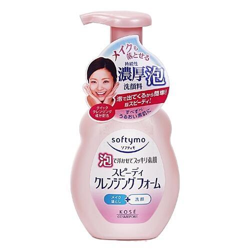 Kose 高絲 Softymo 泡沫瞬淨卸粧洗顏慕絲200ml『STYLISH MONITOR』D318302