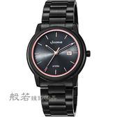 LICORNE entrée 品味生活時尚手錶-黑x玫瑰金