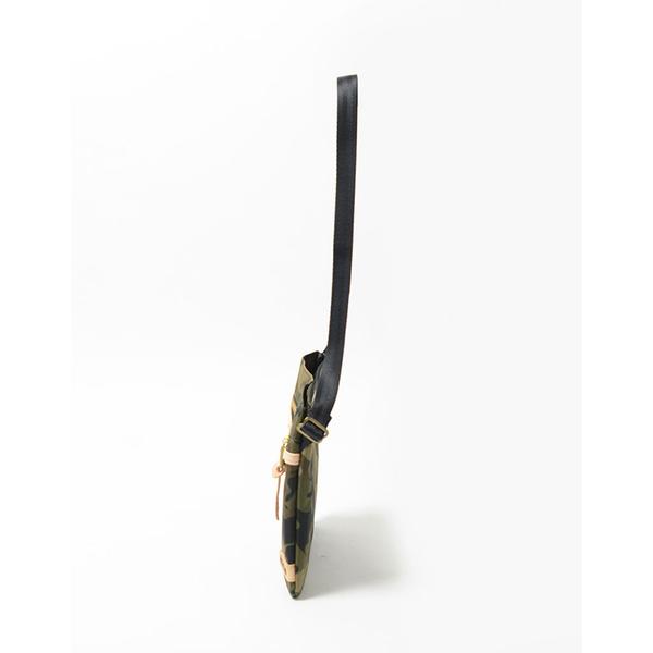 MSPC(master-piece) SURPASS-V2 No.12185-V2 [高質感原色牛皮拼接後側背包-迷彩色]