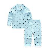 週年慶優惠-兒童睡衣棉質男童女童家居服套裝保暖
