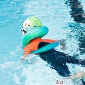 游泳圈迪卡儂游泳圈女兒童男童腋下圈充氣浮力雙層初學者3-6歲NAB E 數碼人生
